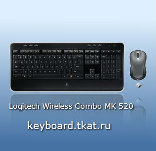 LOGITECH WIRELESS COMBO MK520 USB